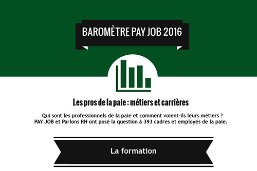 Titre de l'infographie PAY JOB